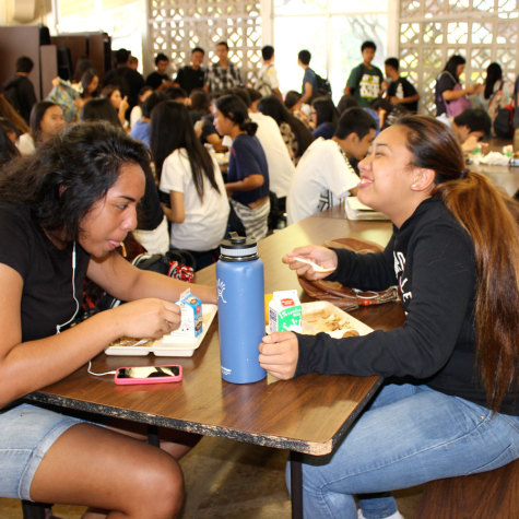 Many students appreciate school lunch