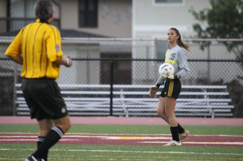 McMillan goes for her goals as goalie