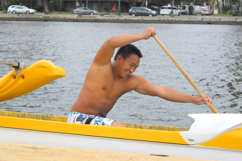 Paddling impels Allen Zhang to succeed