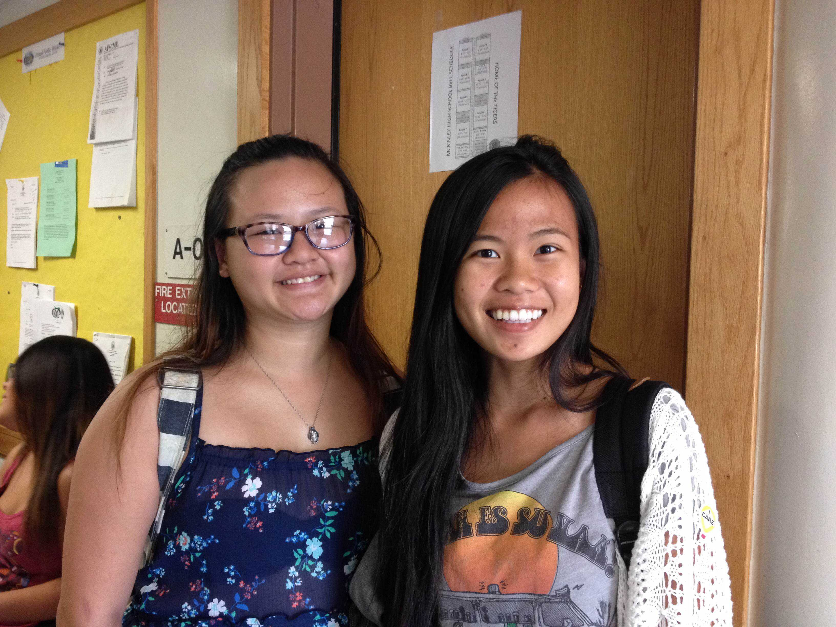 Skylynne Ly and Jin Ling Yan share their reasons for wanting to speak at Commencement. Ly had priorities and changed her mind about giving a speech. Yan was chosen as one of this year's speakers.