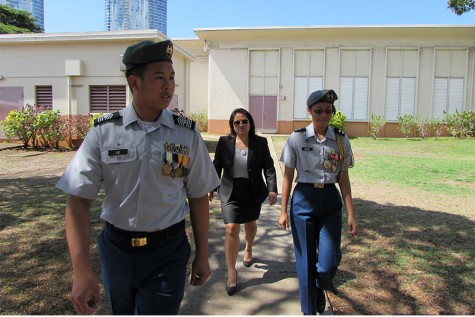 Assistant Secretary of the Army visits McKinley JROTC program