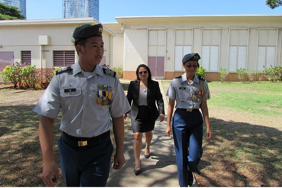 Assistant Secretary of the Army visits McKinley JROTC