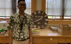 Justin Collado starts teaching at McKinley