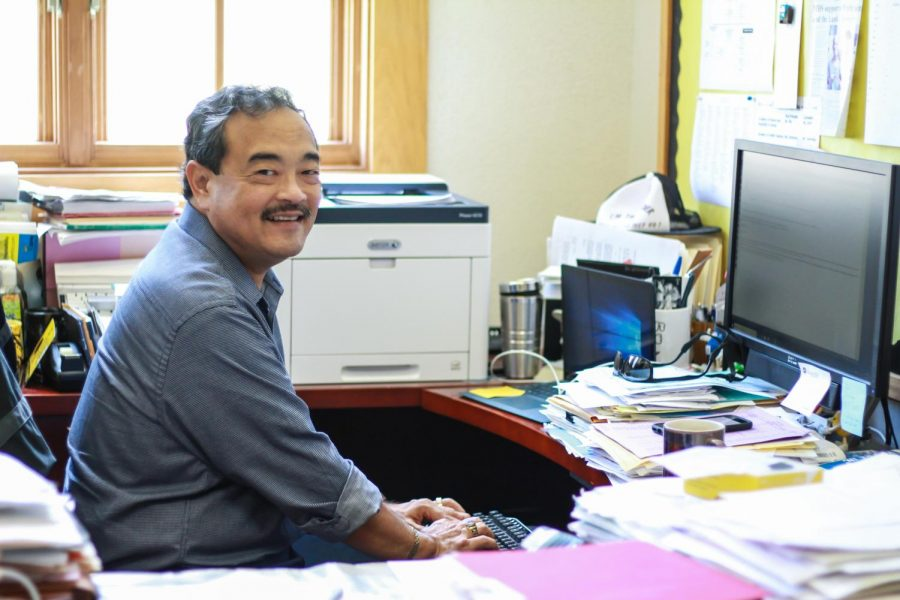 At every school he has worked at, principal Ron Okamura's belief has been that it is the best school in the nation.
