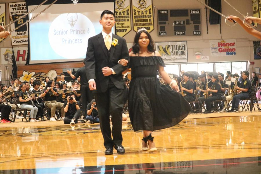 This year's Senior court was Prince Jason Cao and Princess Jonas Balinbin.
