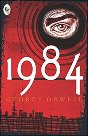 '1984' portrays dystopian society