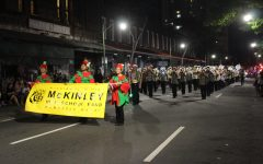 McKinley High School's marching band has performed their final parade to celebrate the holiday season!