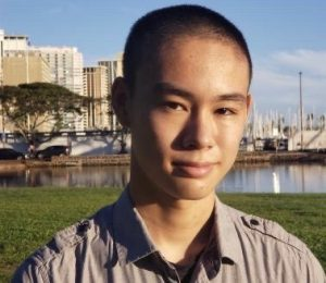 Senior Ocean Mao is trying to figure out how to do his job in JROTC while distance learning.