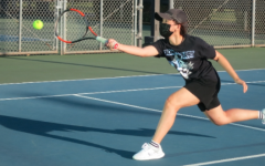 Tennis Team Jumps Back Into Action