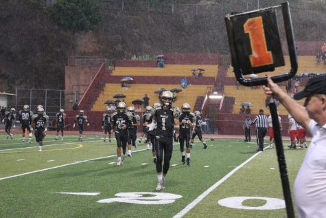 The JV football season was cancelled this year, meaning select underclassmen had to step up to play on the next level.