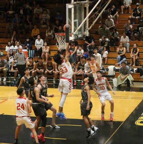 Boys varsity basketball makes states