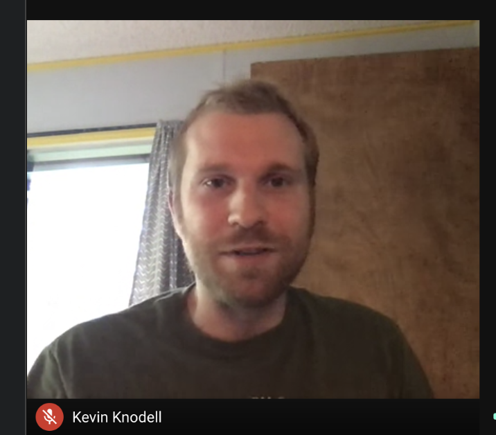 """Kevin Knodell covers military issues for Civil Beat.  He said he enjoys traveling around the world, meeting new people, taking new opportunities, and getting multiple perspectives.  """"You can see how things can be very different than other parts of the world but you can also see how a lot of things arent so different,"""" Knodell said"""