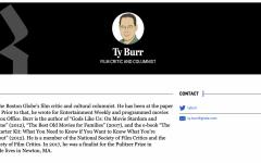 Ty Burr: Film Critic