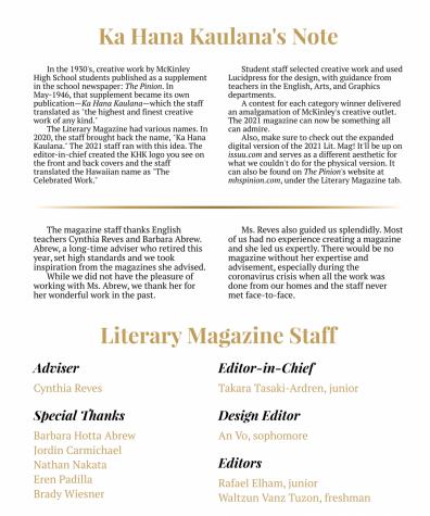 2021 Literary Magazine